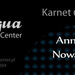 Aqua aerobik - Karnet 30' 2/7